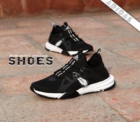 کفش مردانه adidas مدل Bandes(مشکی سفید)