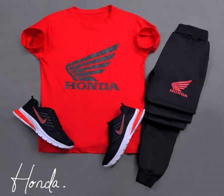 ست تیشرت و شلوار مردانه Honda مدل Bimer
